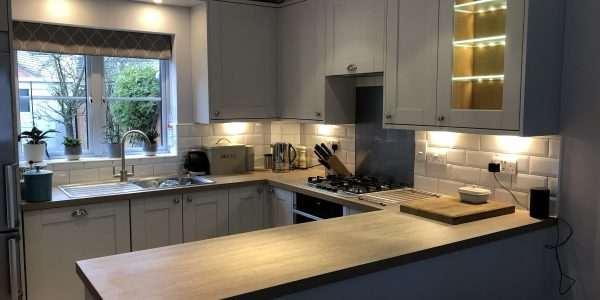 Kitchen Installation (Grey) In Langford Village, Bicester Bicester Property Services