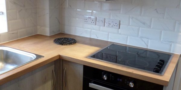 Kitchen Installation (Light Grey) In Arncott, Bicester Bicester Property Interiors