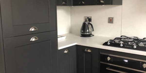 Kitchen Installation (Charcoal) In Langford Village, Bicester Bicester Property Services