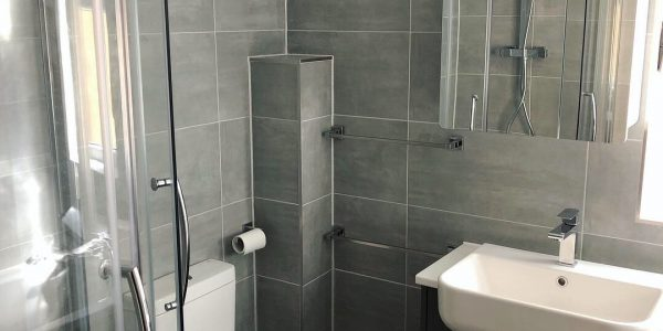 Bathroom Installation (Grey) In Southwold, Bicester Bicester Property Services