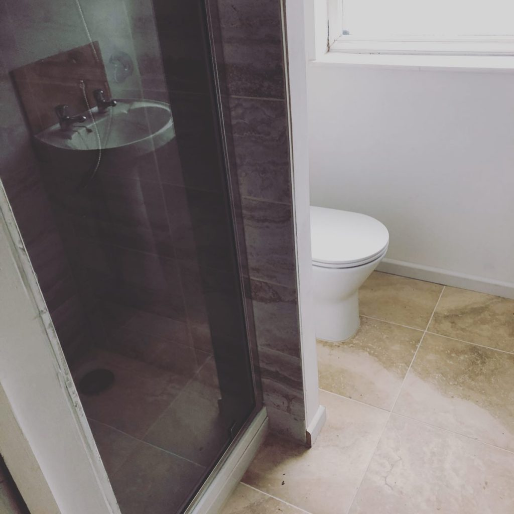 Bathroom Installation (Cream / Sand) Linden Road, Bicester Bicester Property Interiors
