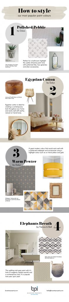 Painting and Decorating Colour Scheme Guide [Infographic] Bicester Property Interiors